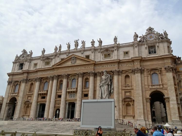 St Peter's Basilica exterior