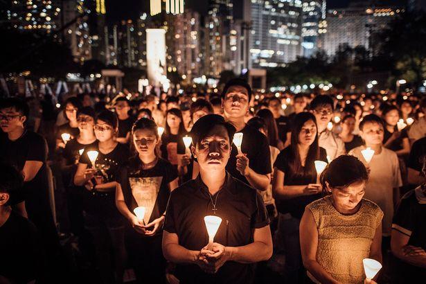 Victoria Park Tiananmen Vigil 2015
