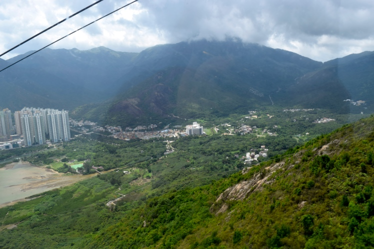 Views from the cable car