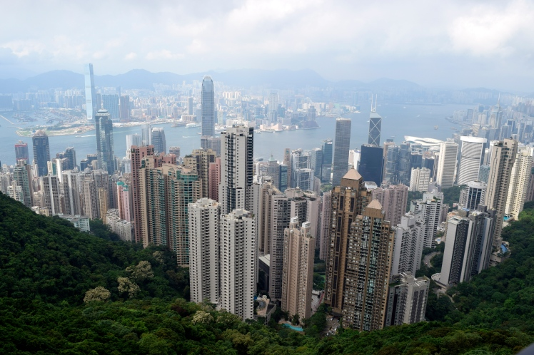 Skyline from Victoria Peak