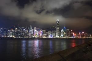 Skyline from Tsim Sha Tsui Promenade