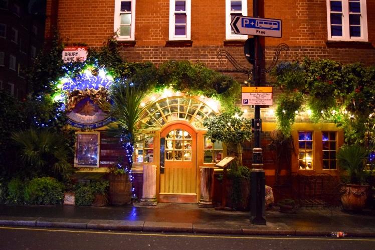 woodland pub