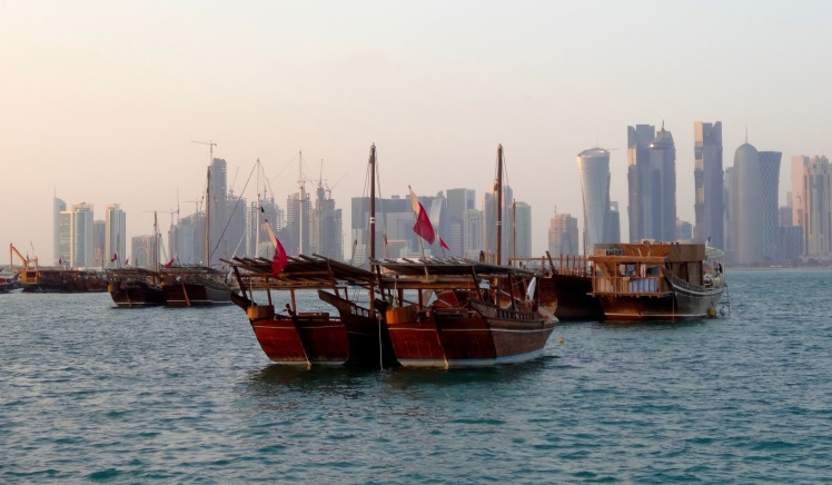 harbour view of Doha