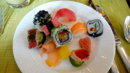 sushi christmas lunch