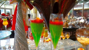 deserts in a champagne flute
