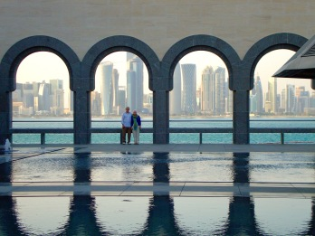 water view of Doha
